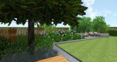 moderní zahrada návrh, zahradní architekt praha