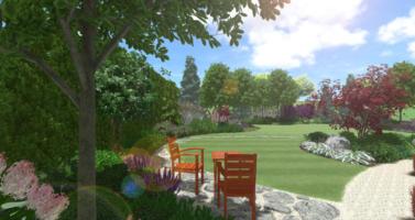 přirodní zahrada návrh, zahradní architekt praha, návrhy zahrad praha