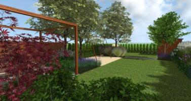 zahrada u řadového domu, mestka zahrada, návrh zahrady praha, zahradní architekt praha
