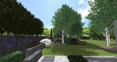 moderní zahrada návrh, zahradní architekt praha, návrhy zahrad praha