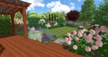 přirodní zahrada, zahrada u řadoveho domu, zahradní architekt praha, projektování zahrad praha, zahrada praha, návrh zahrad