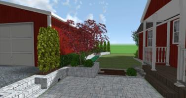 zahrada návrh, zahradní architekt praha, návrhy zahrad praha