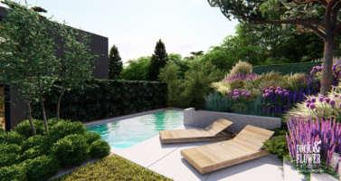 moderní zahrada praha 4, navrh zahrady praha