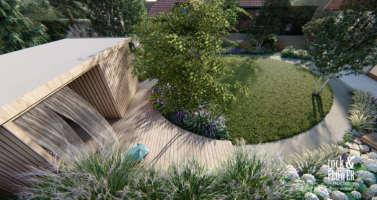 moderni zahrada praha 6